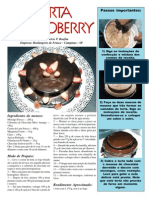 Receita Torta Chocoberry
