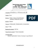 Fonetica y Fonologia II Italiano