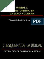 05 Unidad 5 - La Iglesia en La Edad Moderna