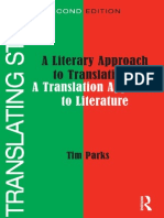 A Literary Approach to Translation