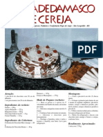 Receita Torta Damasco e Cereja