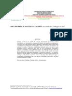 On-line Public Access Catalogs Um Estudo Dos Catálogos on-line