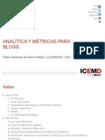 Analítica y Métricas Para Blogs