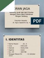 laporan kasus asma attack + demam dengue