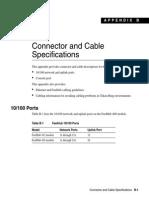 CONECTORAND CABLESPECIFICATIONS