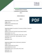 Programacion Tutorias - Laboratorios Ing Telecomunicaciones 2015-2