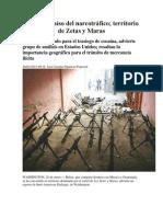 Belice, Paraíso Del Narcotráfico; Territorio de Zetas y Maras