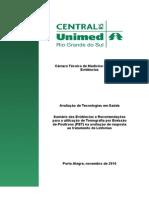2010 - PET TC - Linfoma - Seguimento Do Tratamento