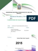 Informe-De- Lab de Maquinas Electricas Terminado