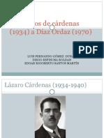 Gob de Cardenas a Diaz Ordaz