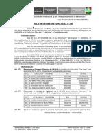 Resoluciones Directoral Apafa 2015