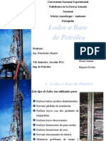 Lodos a Base de Petroleo