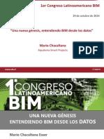 Una Nueva Genesis Entendiendo BIM Desde Los Datos Mario Chacaltana