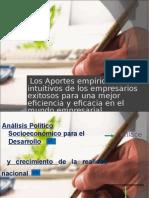 Aportes Empíricos e Intuitivos- 10.12.09