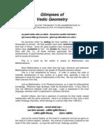Glimpses of Vedic Geometry