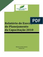 Relatório de Execução Do Planejamento da Capacitação 2010(1)