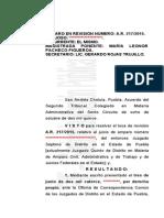 Sentencia contra la CAIP juicio de amparo 217-2015