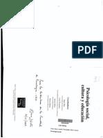 Paez, D., Fernández - Actitudes- Componentes, Modelo de La Acción Razonada y Planificada