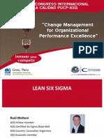ISOTools Keynote 2 Lean Six Sigma Raul Molteni GG