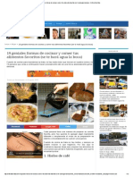 19 Geniales Formas de Cocinar y Comer Tus Alimentos Favoritos (Se Te Hará Agua La Boca) - Cultura Divertida