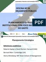 Of. 16 - Planejamento Estrategico - SALVADOR 2013