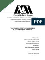 Naturaleza e importancia de la planeacion estrategica.docx