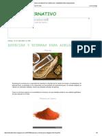 Especias y Hierbas Para Adelgazar