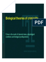 Biological Theories of Criminality