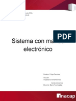 Trabajo de Transmisiones Con Mando Electronico