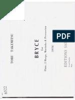 Takemitsu - Bryce