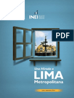 Lima Metropolitana 2014 Inei