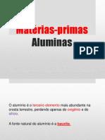 Obtenção de Aluminas Processo Bayer