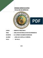 Trabajo Individual Escrito Derecho Tributario Apelacion Viii Ciclo