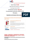 [Braindump2go] 70-342 Dumps Free Download 61-70