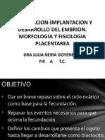 06-05-2015 Fecundacion-implantacion y Desarrollo Del Embrion