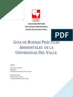 Guia de Buenas Practicas Ambientales de La Universidad Del Valle