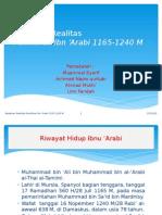 Ibnu 'Arabi_Tugas Mata Kuliah Sej. Pemik. Islam