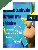 Puntuaciones z,Curvanomal,Pruebadehipotesis