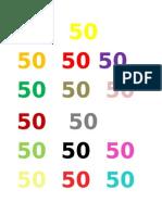Plana Del 50
