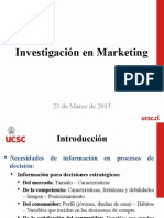 Tema 1 - Investigación en Marketing