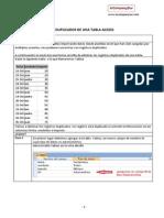 Quitar Duplicados SQL