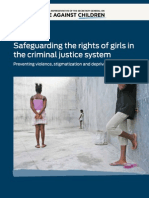 Safeguarding the Rights of Girls in the Criminal Justice System