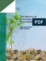 UNEP - The Impacts of Sustainable Public Procurement - 2012