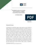 Economia Politica 2014 Bezchinsky