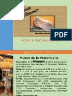 Presentacion Museos de El Salvador