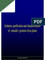 Metalloprotein Characterization
