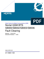 GSM BTS S8000 S8002 S8003 S8006 Fault Clearing