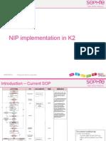 NIP Implementation in K2