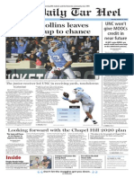The Daily Tar Heel for Oct. 19. 2015