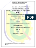ANTECEDENTES  DE LA ORIENTACION Y CONSEJERIA EN EL PERU.docx